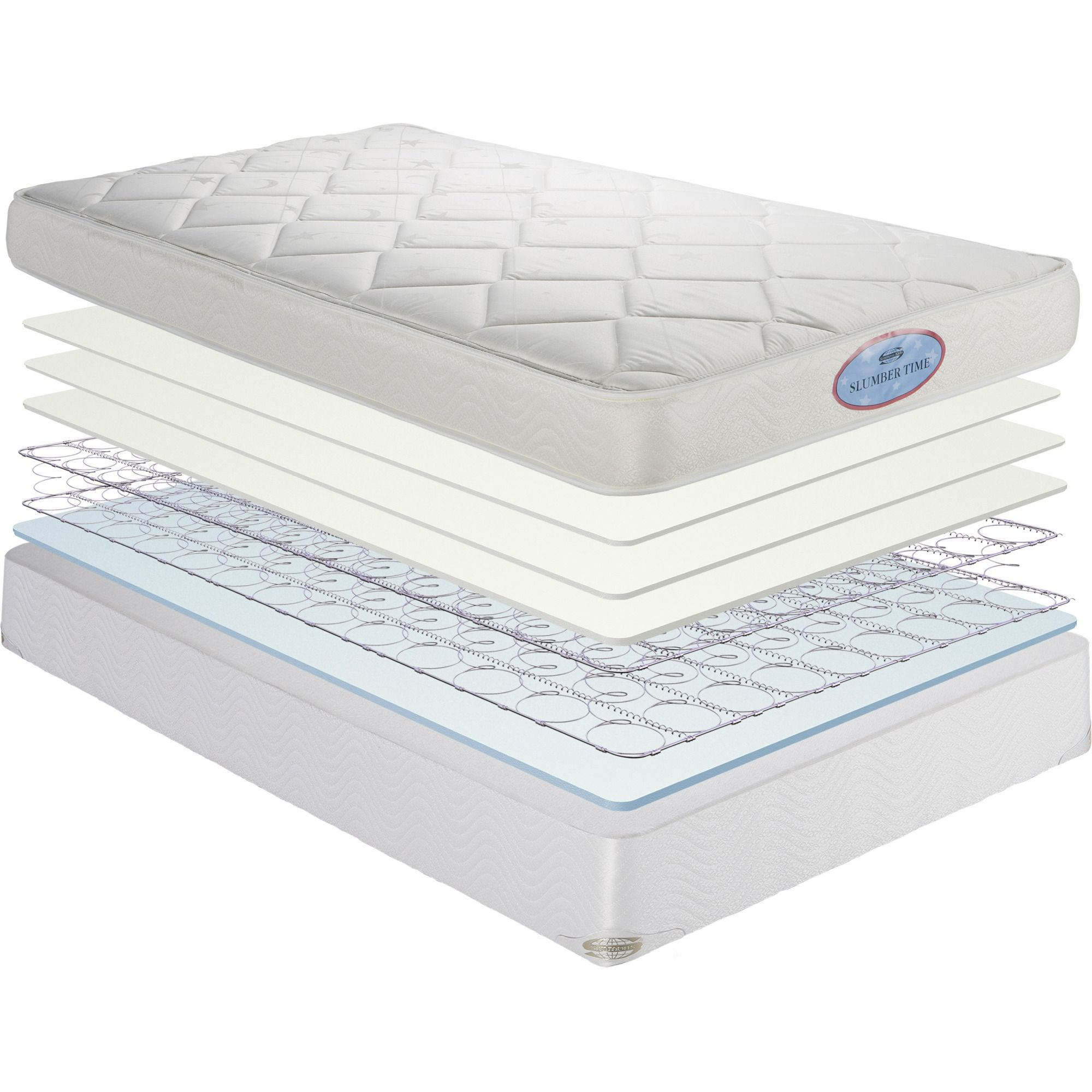 Comfortable Toddler Spring Mattresses Simmons For Kids Slumbertime