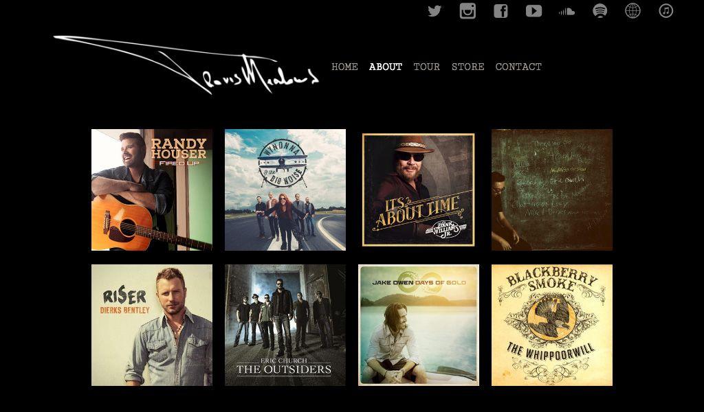 Website Design Inspiration Best Country Band Websites Band Website Country Bands Website Design Inspiration