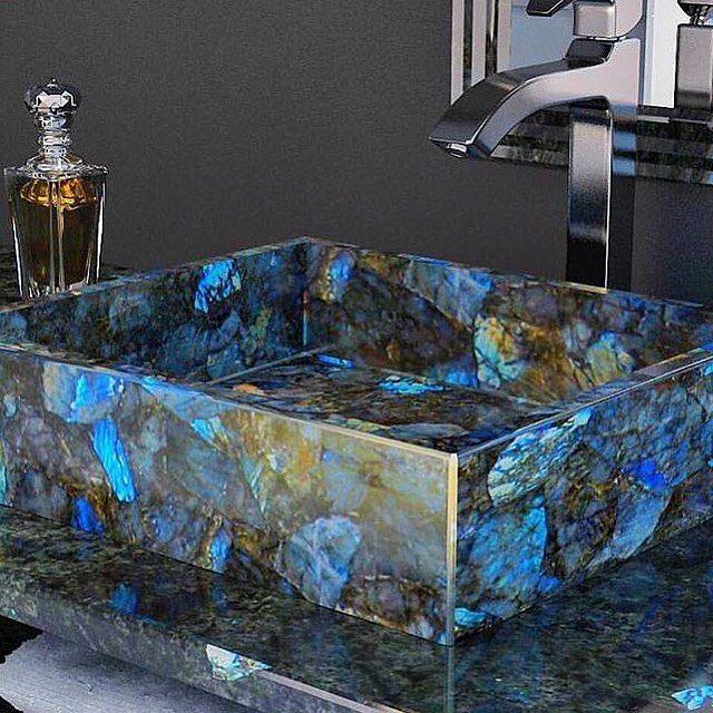 Labradorite Sink Home Decor Trends Trending Decor Home Decor