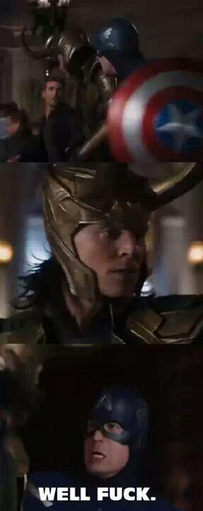 Loki ~ Captain America ~ Well...