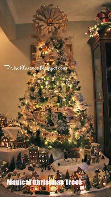 Magical Christmas Trees #rustikaleweihnachten