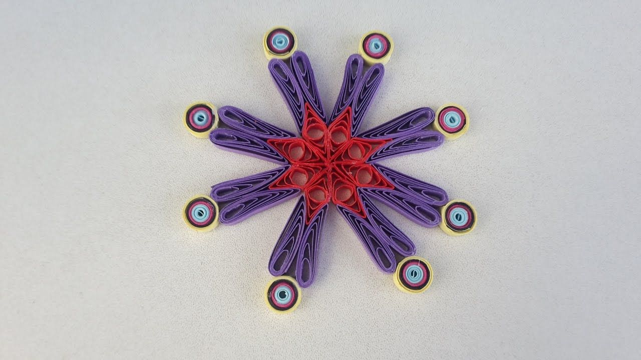 How To Make Paper Quilling Flower Quilling Ideas Paper Quilling