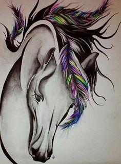 Resultado De Imagem Para Cavalos Tumblr Tatuagem De Cavalo