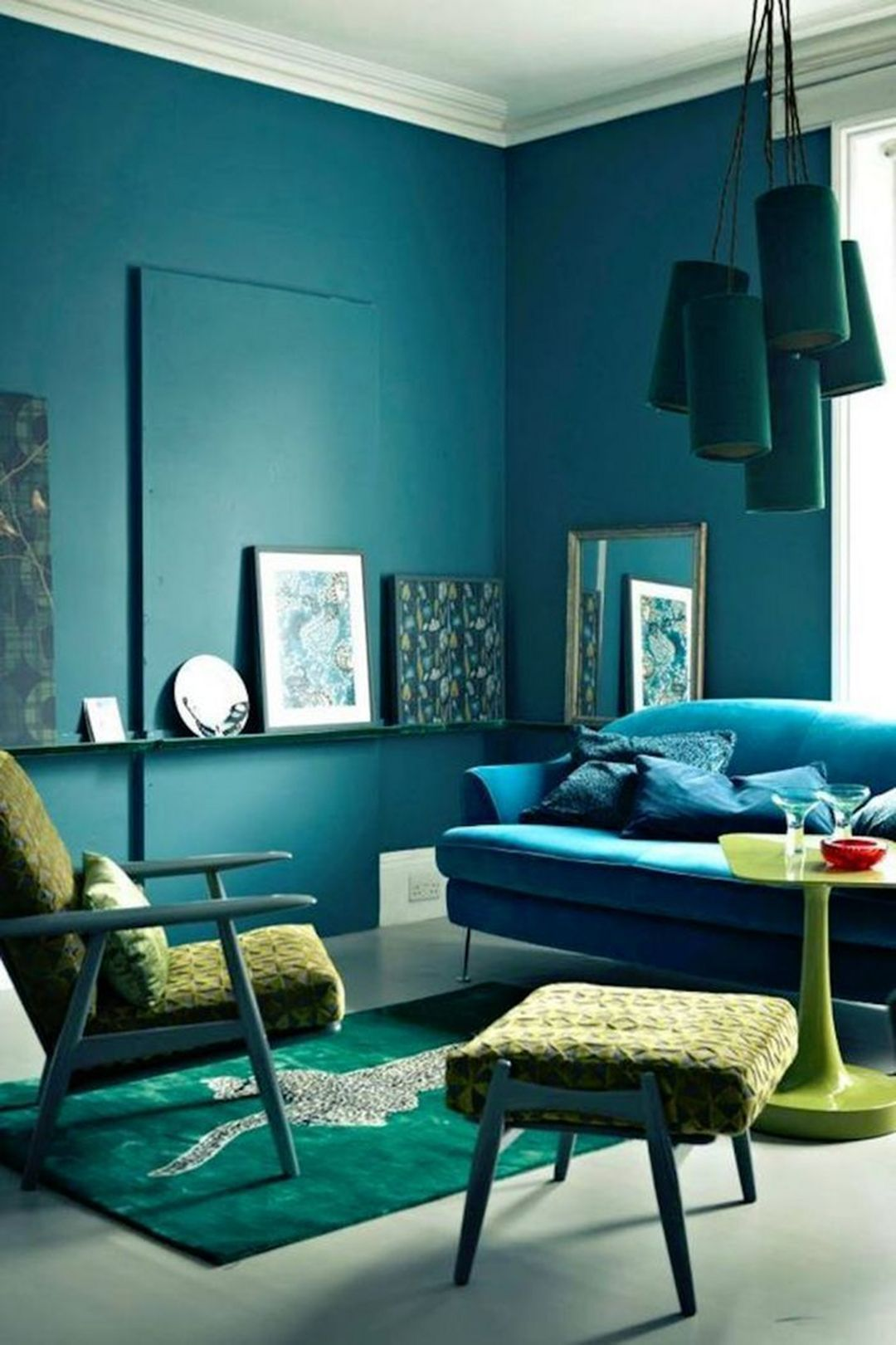 Beautiful Color Harmony Interior Design Ideas 110 Turquoise Room Living Room Color Schemes Room Color Schemes