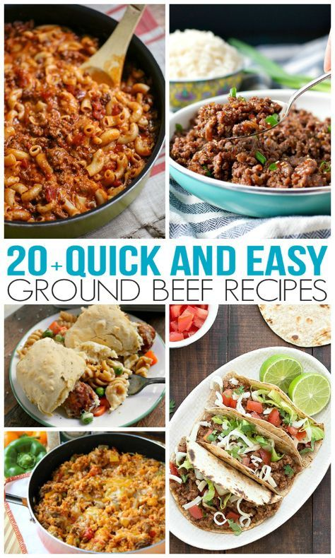 When I Totally Lose Track Of Time I Turn To Ground Beef It Defrosts Quickly And Ground Beef Recipes Easy Ground Beef Recipes Healthy Beef Recipes For Dinner