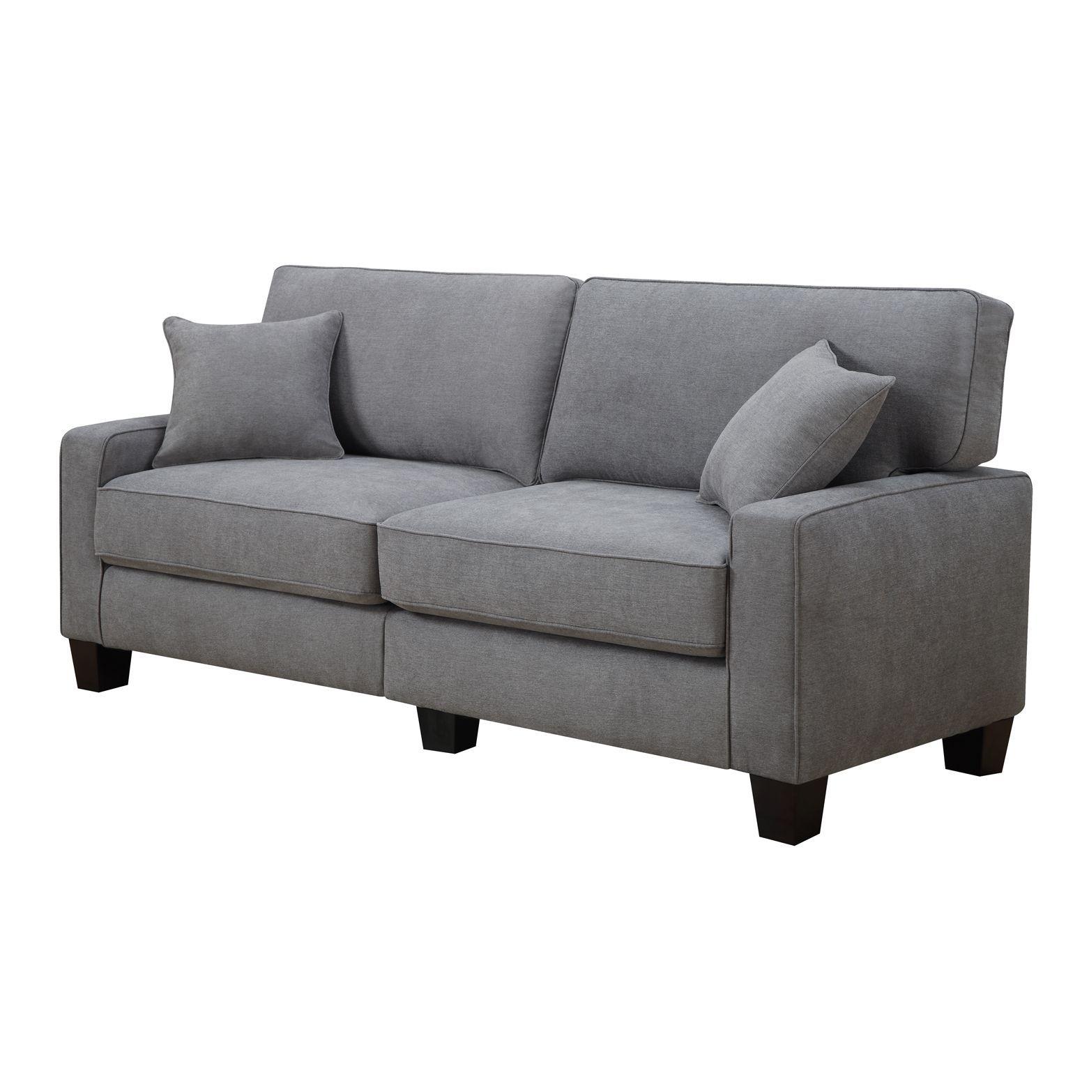 Overstock Com Online Shopping Bedding Furniture Electronics Jewelry Clothing More Grey Fabric Sofa Sofa Fabric Sofa