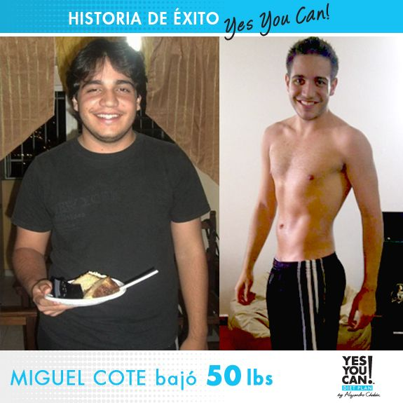 Miguel Cote Another Yes You Can Diet Plan Success Story Stefany