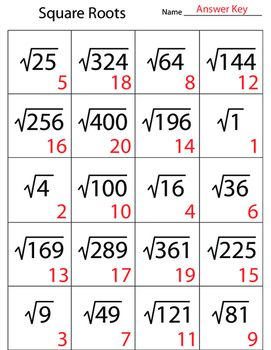 Square Roots Numbers Squared Studying Math Math Prep Learning Mathematics
