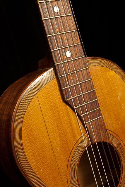 Vintage Guitar Repair A German Parlor Guitar Vintage Guitars Vintage Guitar Art Guitar