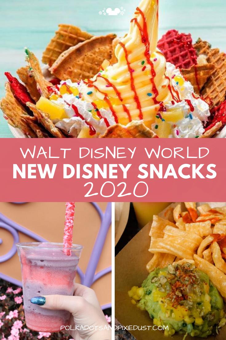 New Snacks at Walt Disney World 2020 in 2020 Disney