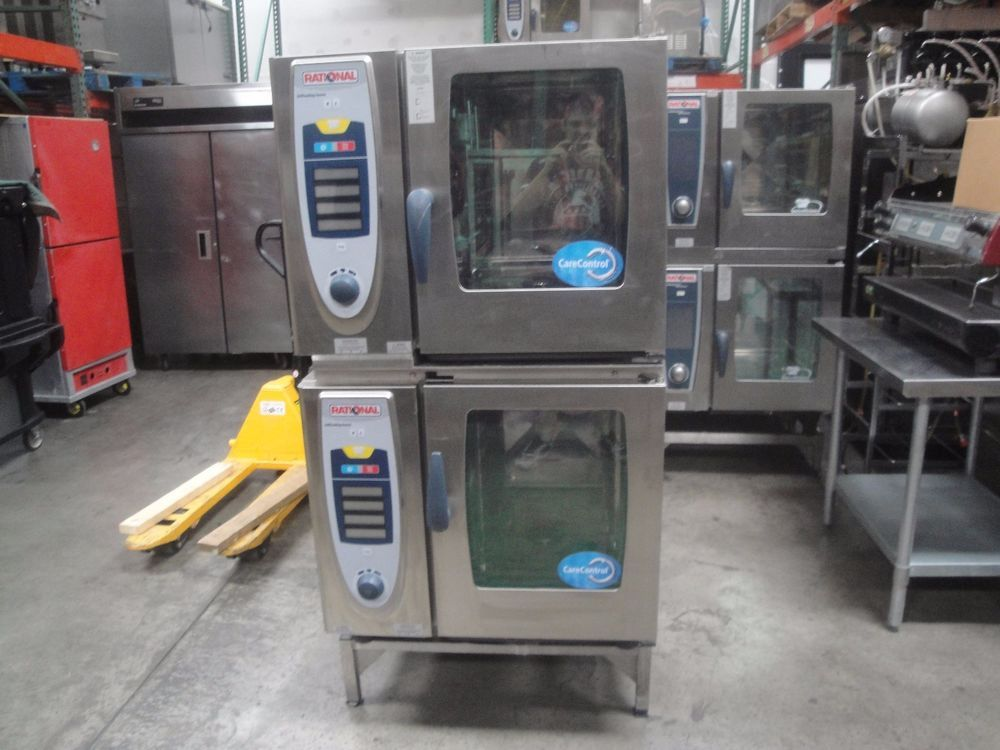 Rational SelfCooking Center SCC 61 Electric double stack combi ovens ...