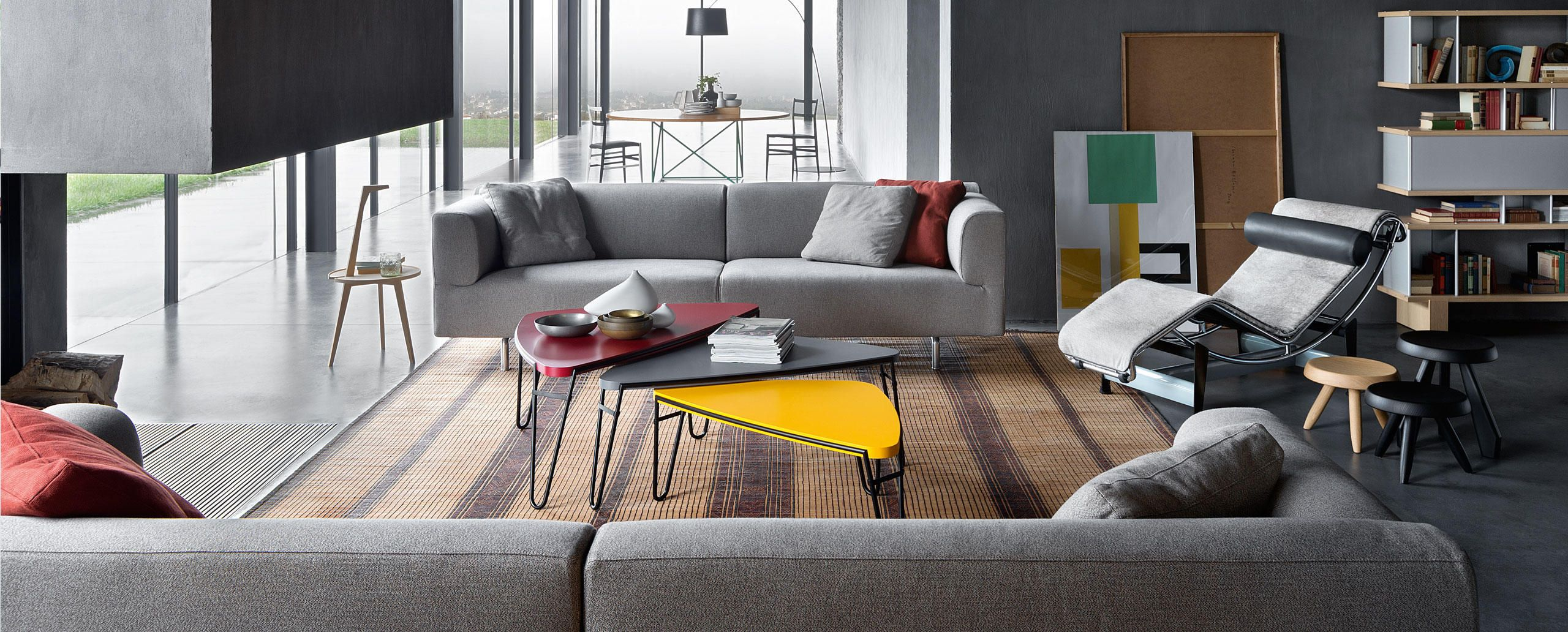 250 met divano sofas by piero lissoni cassina agk table coffee table design y space furniture - Divano toot cassina ...