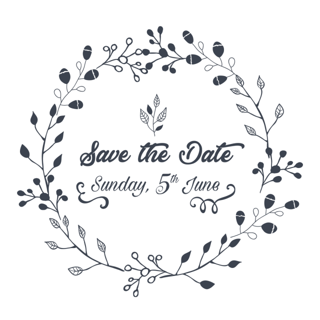 Save The Date Illustration Bride Clipart Flower Vector Flower Png And Vector With Transparent Background For Free Download Save The Date Illustrations Vector Flowers Flower Frame
