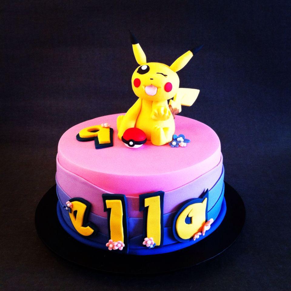 pokemon birthday cakes for girls