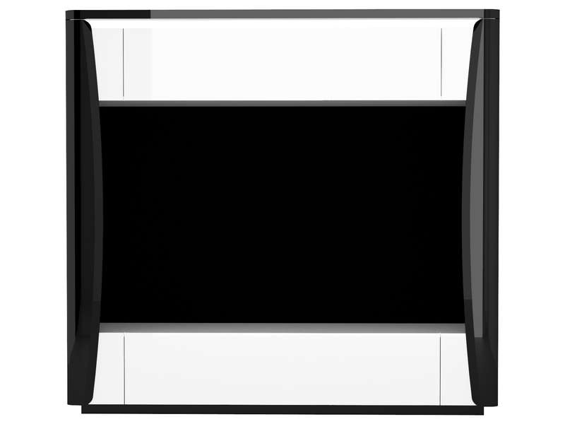 meuble tv 180 cm tiago coloris blanc