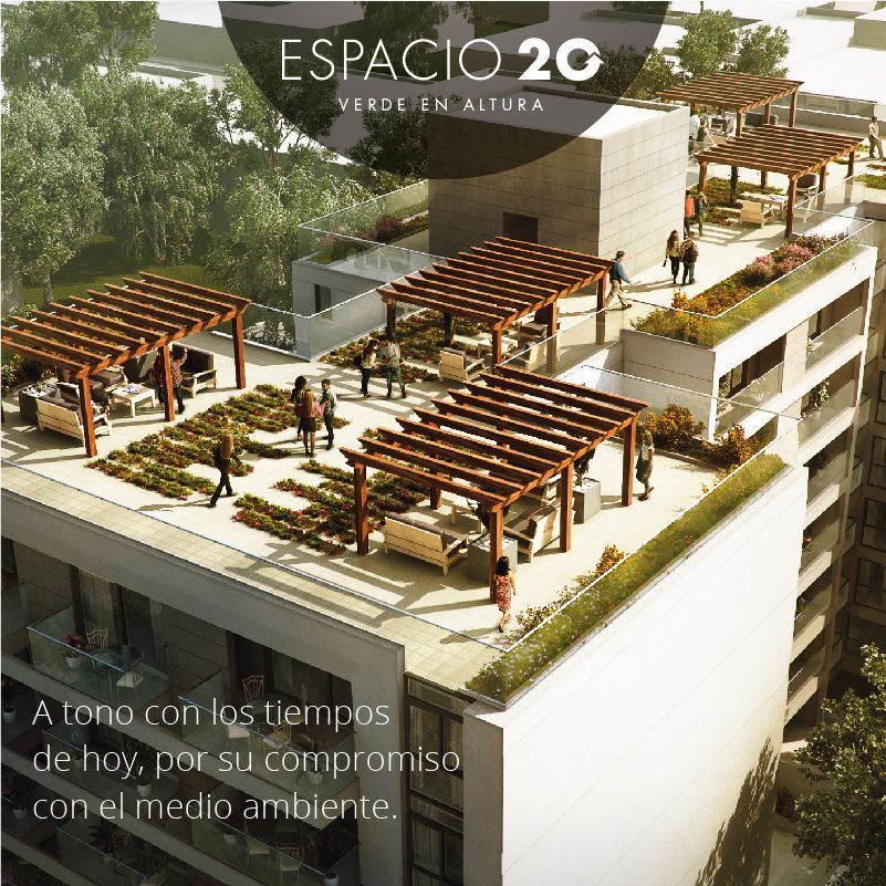 Espacio 20 Verde En Altura Techos Verdes Terraza Verde Verde