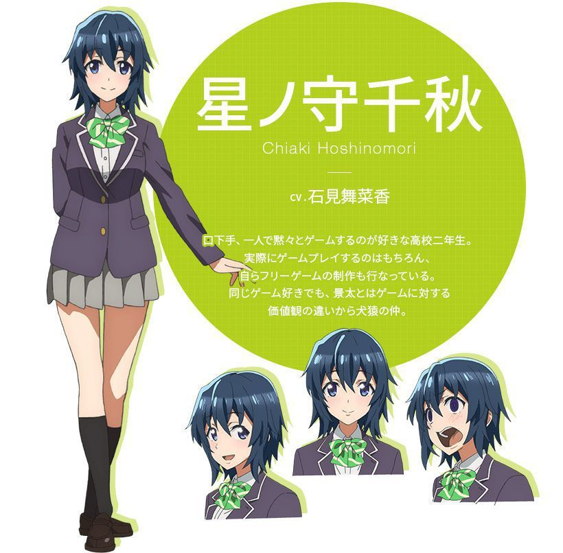 Gamers Anime Character Reference Design Song Artists Theme