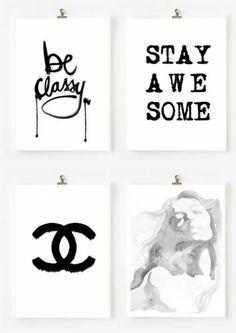 Fashion Wall Decor fashion wall artdecor - google search | bedroom decor | pinterest