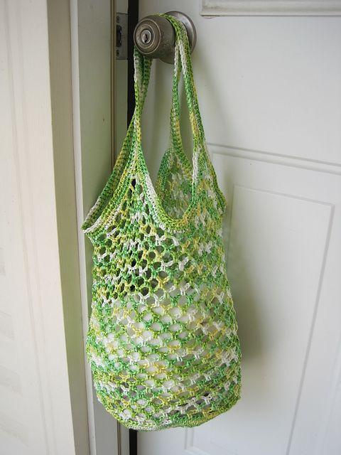 Ravelry: rosim's Raffia Bag