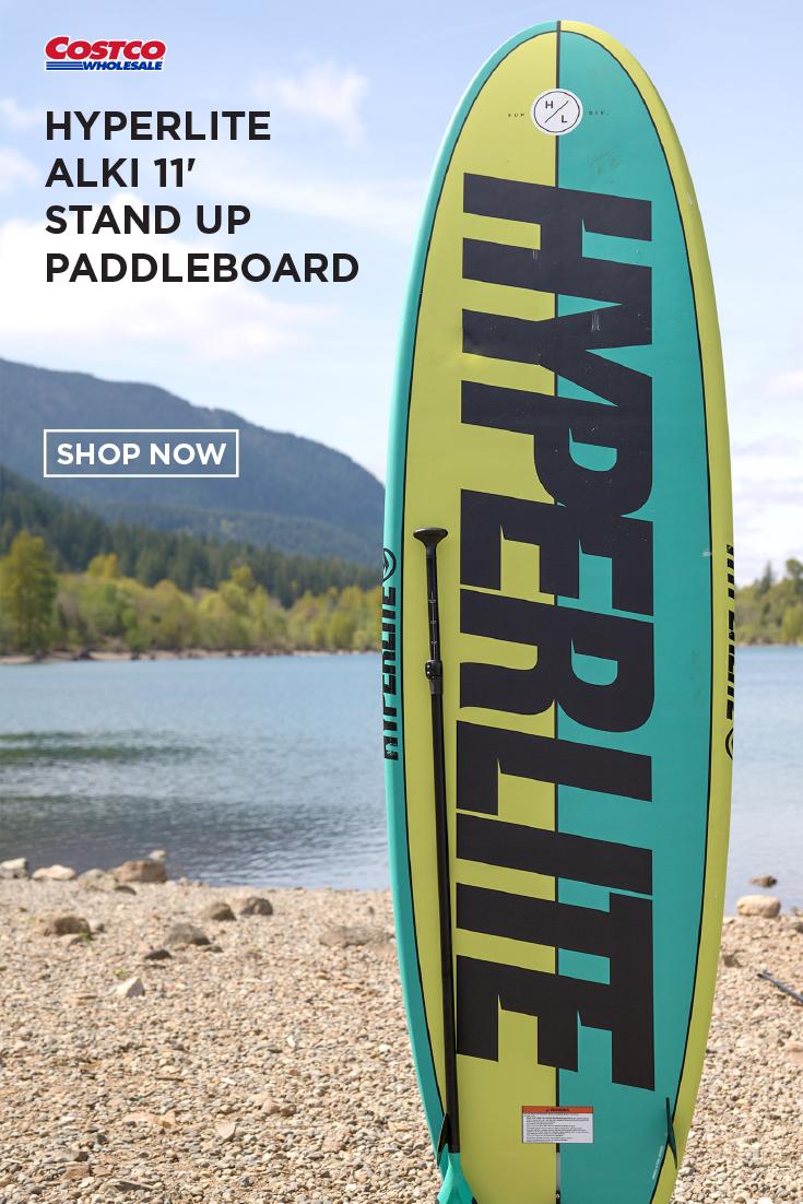 Hyperlite Alki 11 Stand Up Paddleboard Paddle Boarding California Skiing Whistler Camping