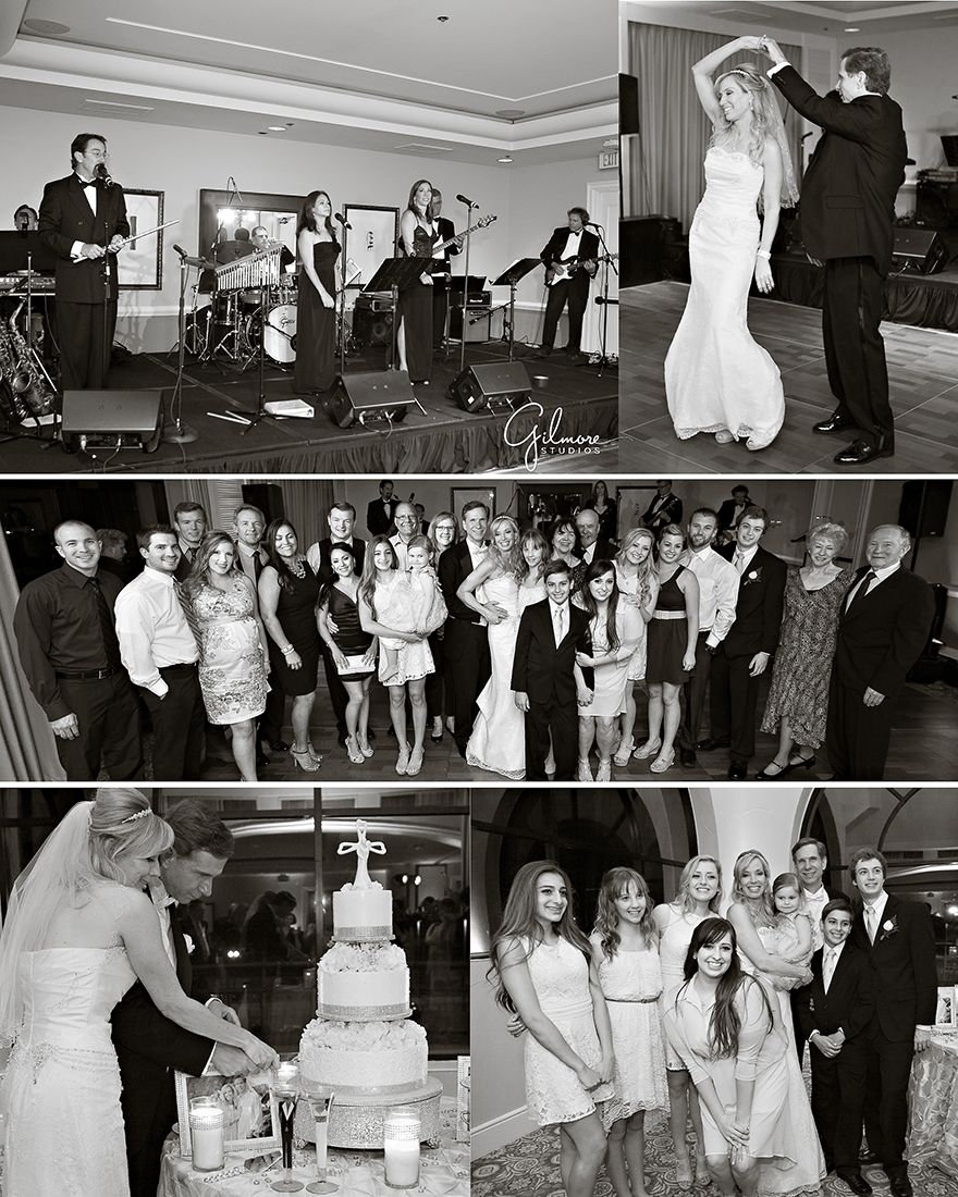 Wedding Cakes Orange County: Huntington Beach Hilton Waterfront Resort Wedding