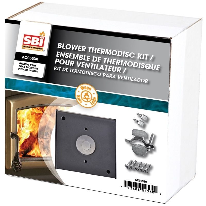drolet sbi ac05520 wood stove blower fan 2 1 4 round opening details about drolet ac05530 wood stove blower thermodisc kit temperature control on off fan