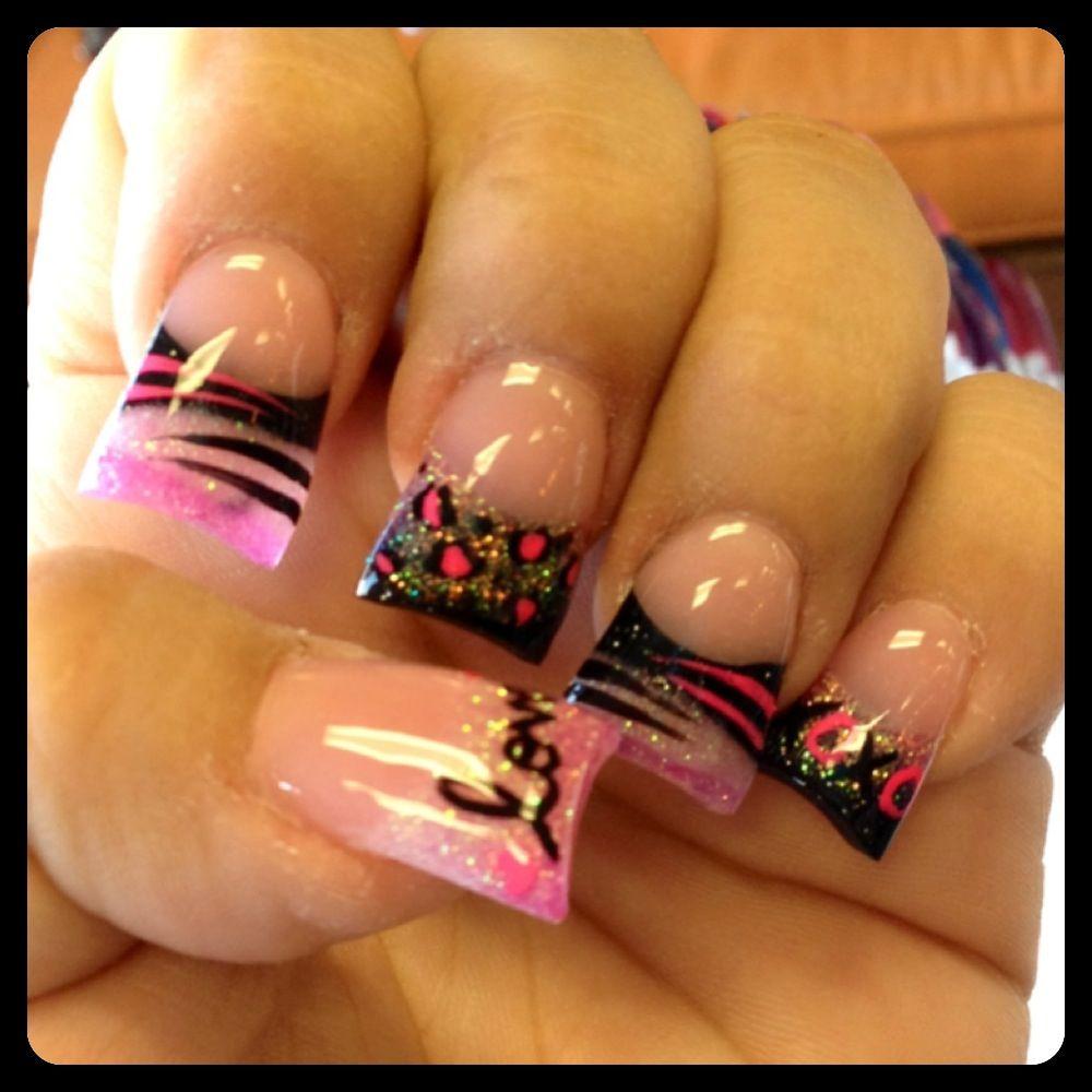 Love my valentines/anniversary nail design | nails | Pinterest ...