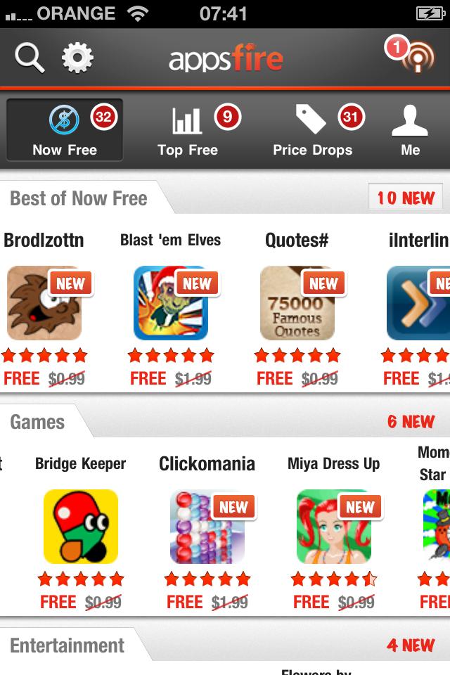 App Deals for iPhone