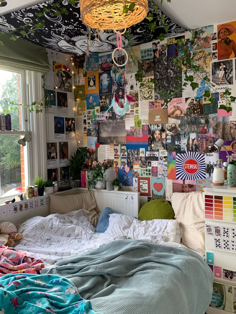Busy Wall Dreamy Room Room Inspiration Bedroom Indie Room Decor See more ideas about aesthetic rooms, aesthetic bedroom, aesthetic room decor. room inspiration bedroom indie room decor