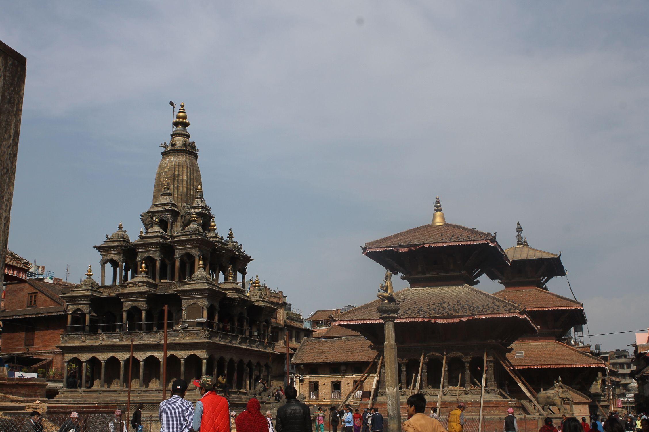Verdadera Durbar Square de Patan, esta vez sí!