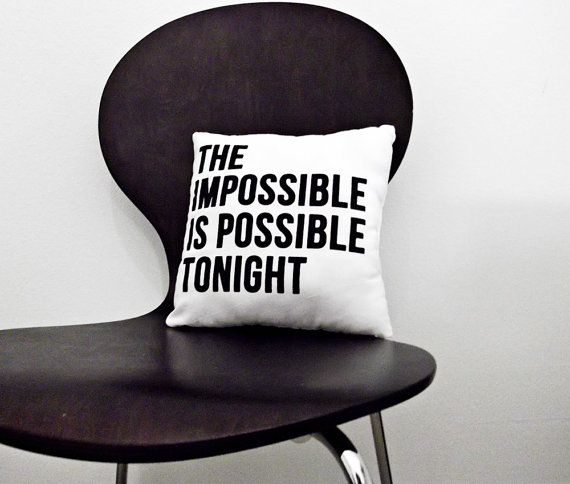 The Impossible Is Possible Tonight  Smashing Pumpkins  by oakyshop, $20.00