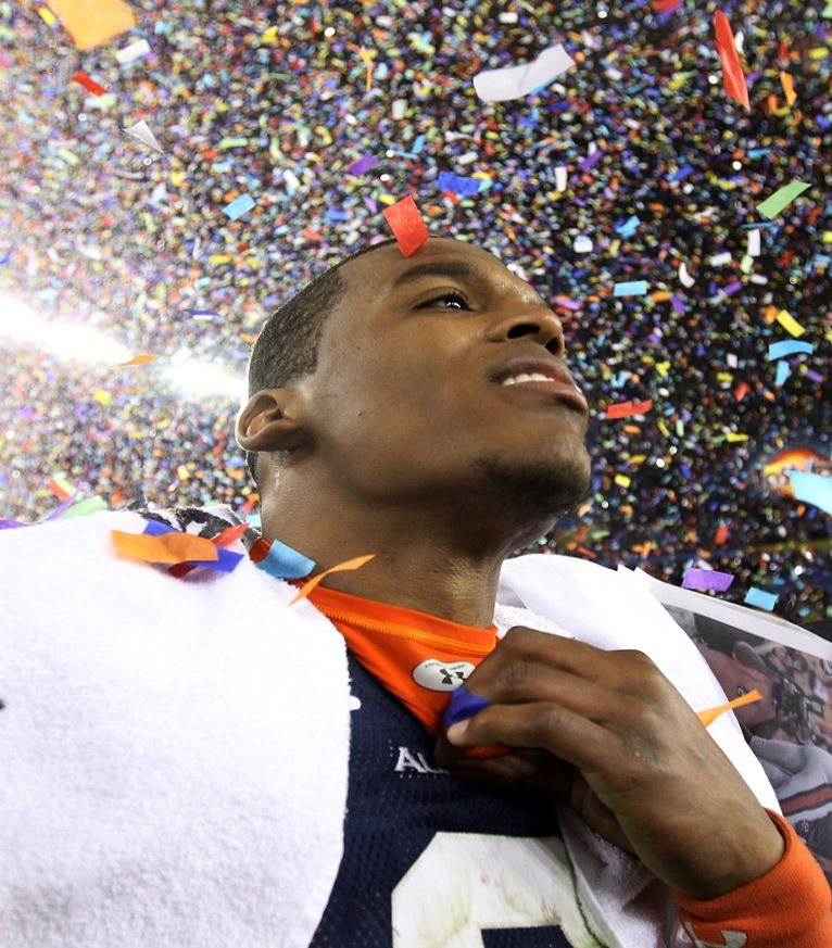 Cam Newton after the National Title