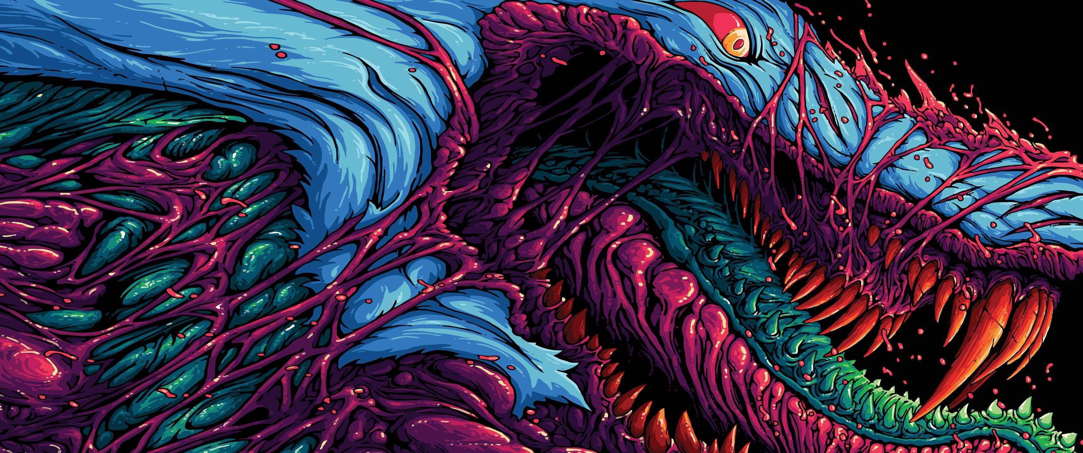 Seaman Demon Massive X Massive Hyper Beast Wallpaper