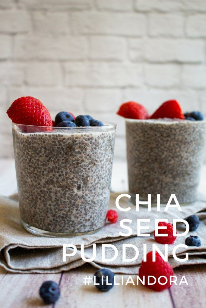 The BEST Chia Seed Pudding #chiaseedpudding