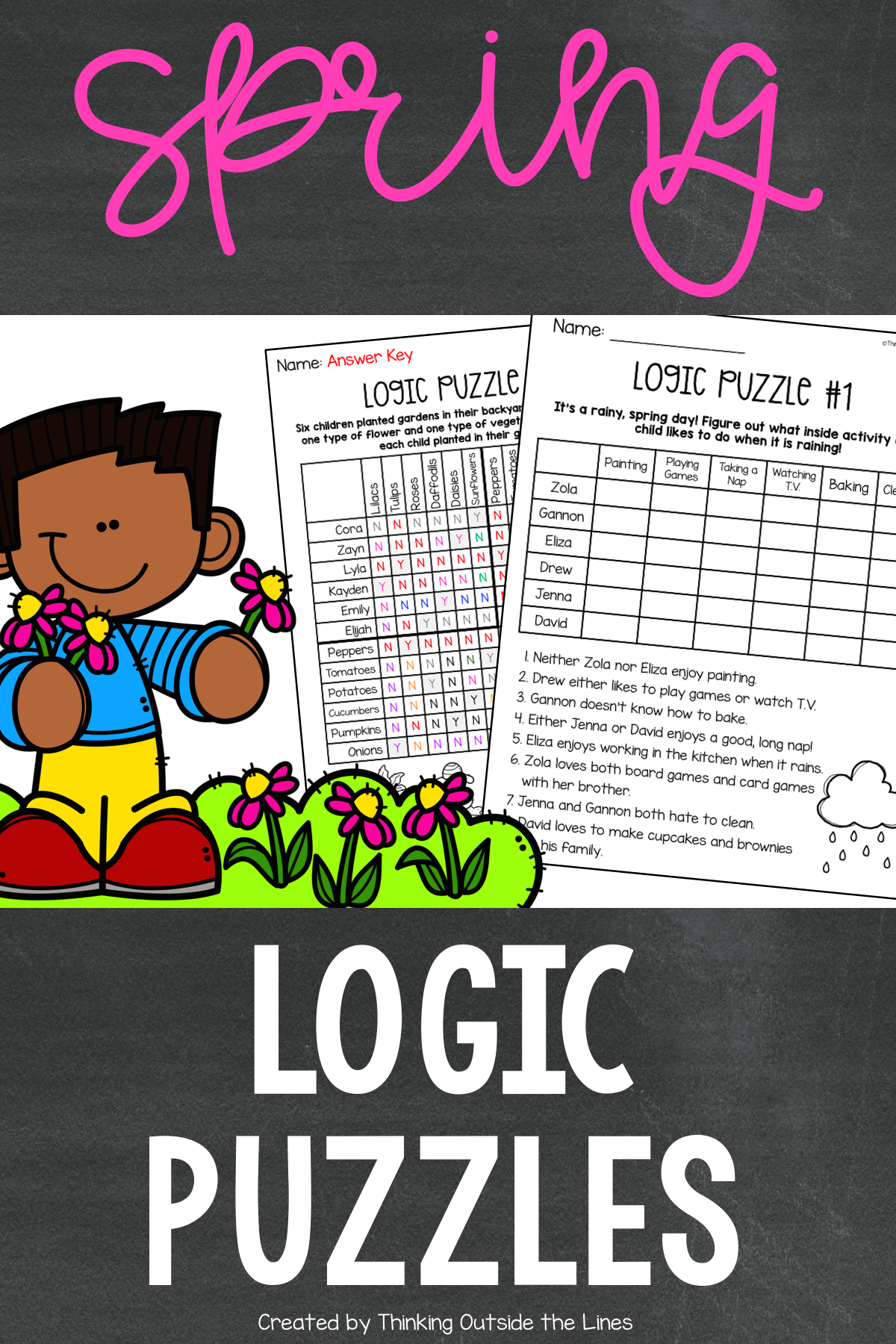 Spring Logic Puzzles In