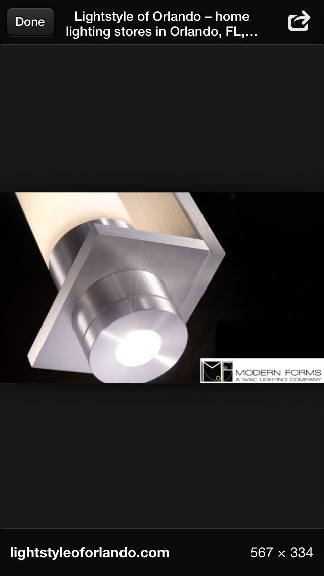 Detail Of Jedi Led Wall Sconce By