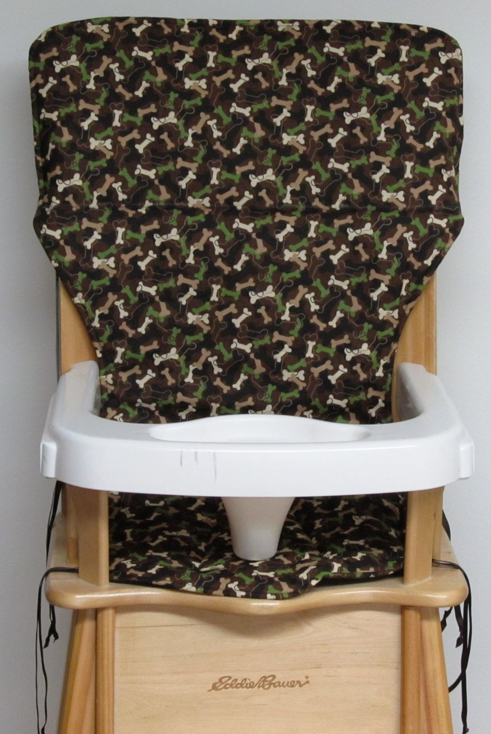 Wooden High Chair Cover Eddie Bauer Replacement High