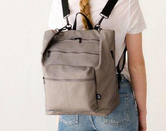 Canvas Diaper Bag, Diaper bag Backpack, Baby nappy bag