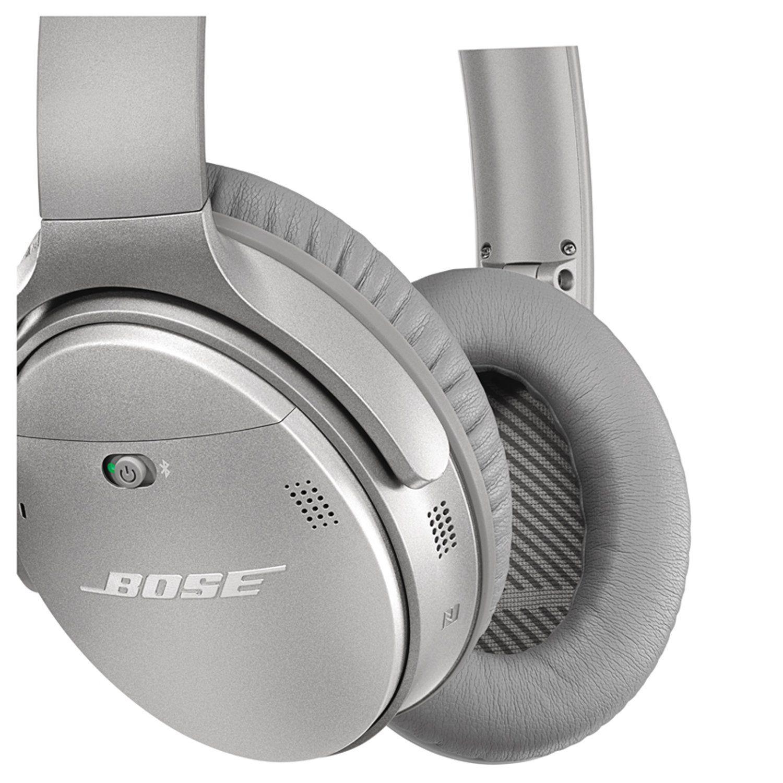 Amazon Com Bose Quietcomfort 35 Wireless Headphones Noise Cancelling Headphones Wireless Noise Cancelling Headphones Bluetooth Noise Cancelling Headphones