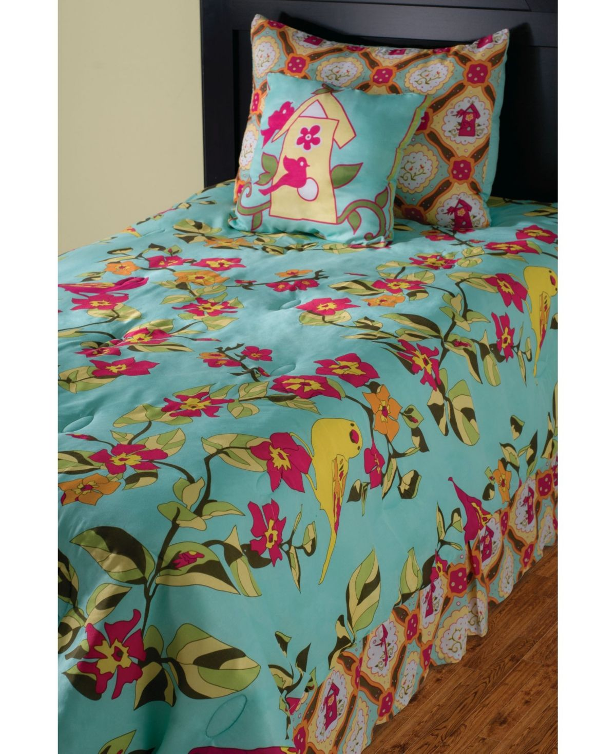 Birds In Paradise Twin 2 Piece Comforter Set In 2019 Kids
