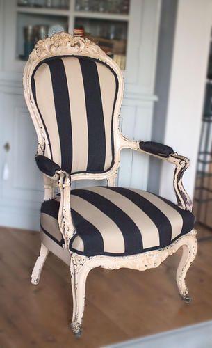 Sillon restaurado deco muebles sill n vintage y sillones - Sillones antiguos restaurados ...