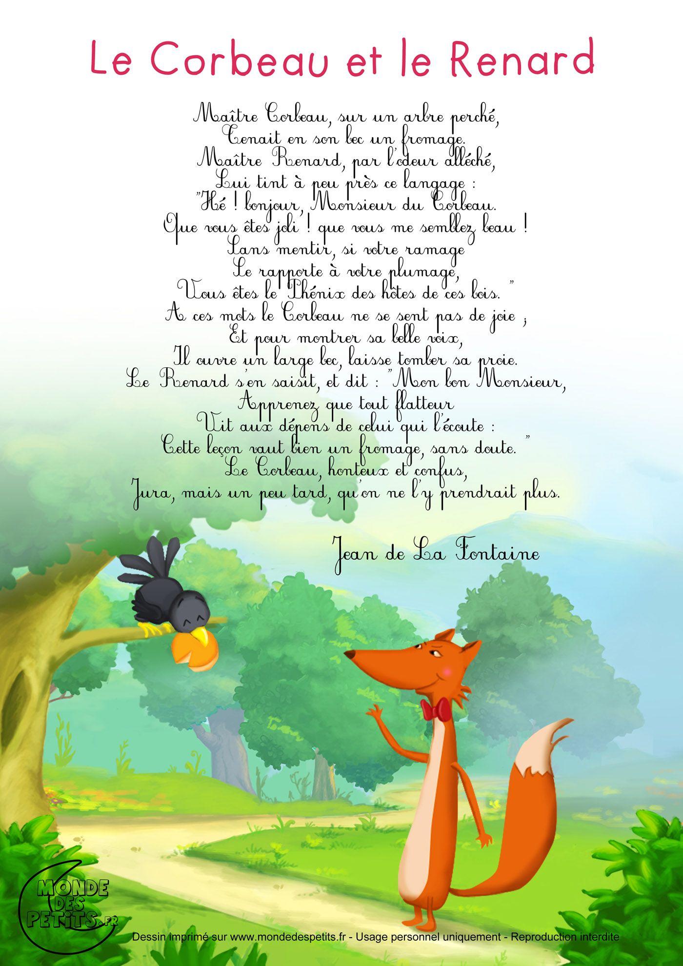 Tatyana novoselova chansons pour enfants comptines - Coloriage le corbeau et le renard ...