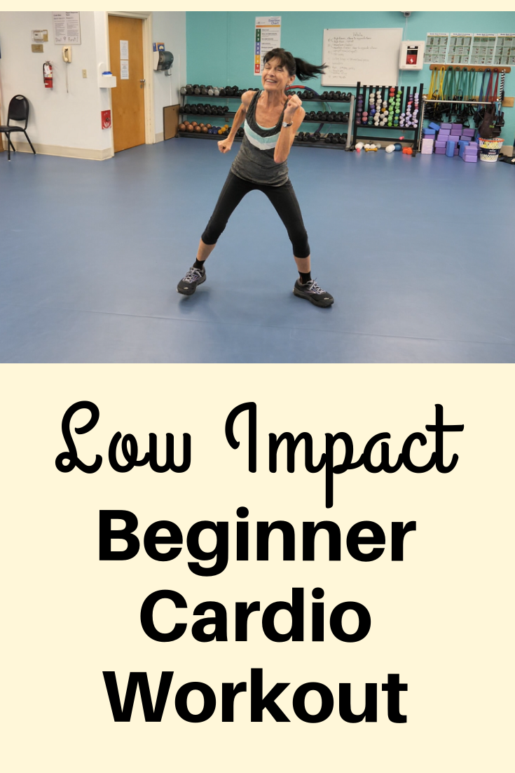 This low impact cardio workout is perfect for beginners, those recovering from injury or days when you just don't feel 100 percent!