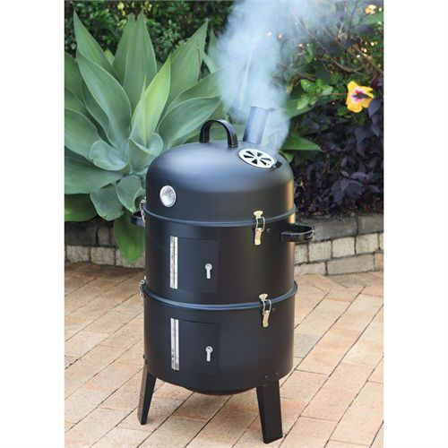 Outdoor BBQ Grill Charcoal Barbecue Patio Backyard Home Meat Cooker Smoker Red - from Alibaba.com