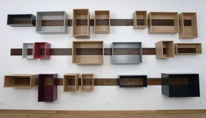 Storage boxes on wall & Storage boxes on wall   Kassar kassar kassar   Pinterest   Storage ...