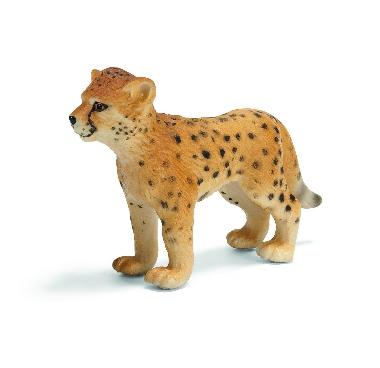 Schleich - Figura cría de guepardo (14327): Amazon.es: Juguetes y juegos