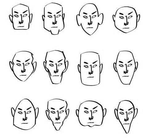 Cartoon Head Shapes Yahoo Image Search Results Cartoon Head Drawing Cartoon Faces Cartoon Tutorial