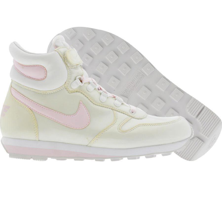 nike donne neve waffle ii (bianco / rosa ghiaccio) 311854 161