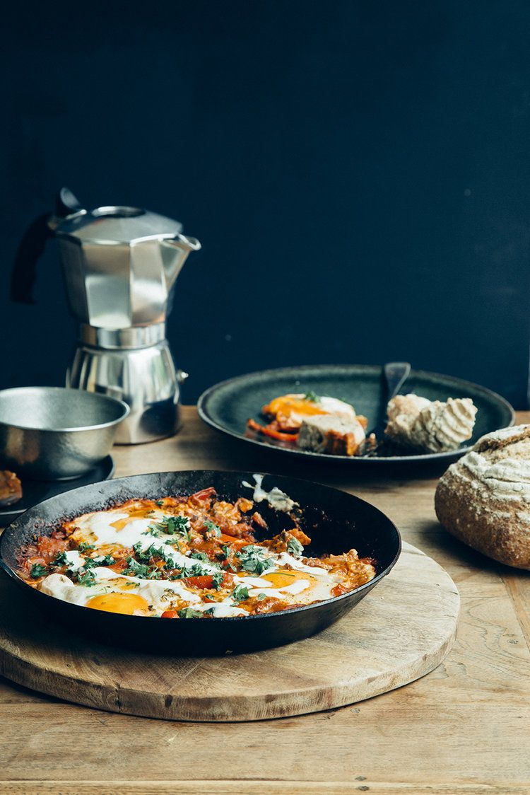 Shakshuka is the darling of foodie media since a little while, if you go by  instagram likes and comments it doesn't seem to be slowing down, in fact in  my small and unscientific observation, its just as trendy as well known  street food like burgers and pizzas!  I first heard about Shakshuka when I interviewed Yotam Ottolenghi two years  ago, (starstruck, he is my idol). He revealed that Shakshuka was his  favorite dish from his own books, or at least one that he wanted to see  becoming…