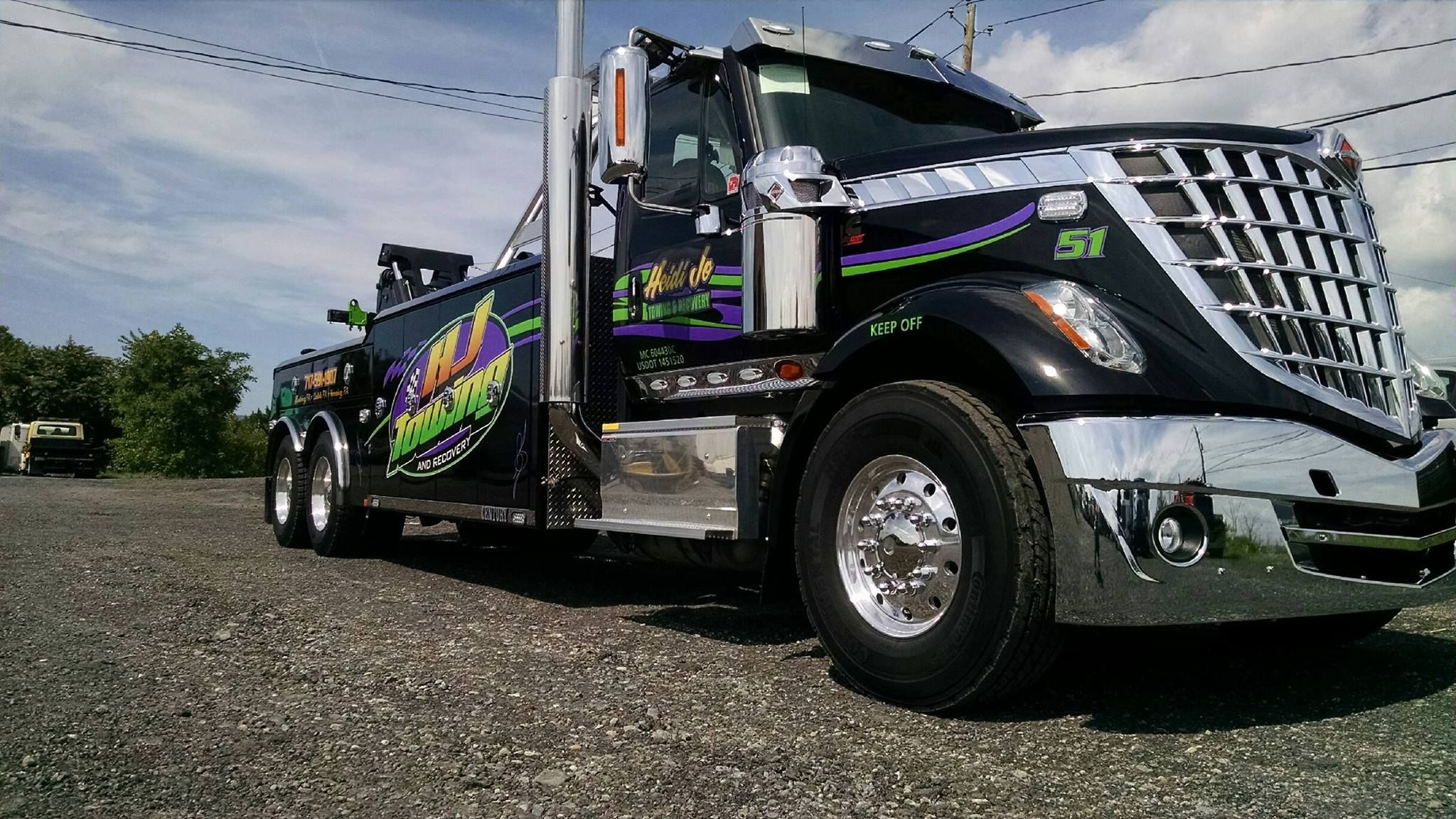 Hj towing http hjtowing com